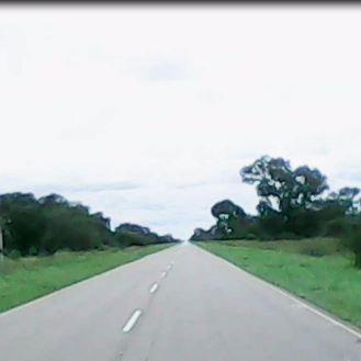 Road - From Porto Xavier (BRA) to Resistencia (ARG)