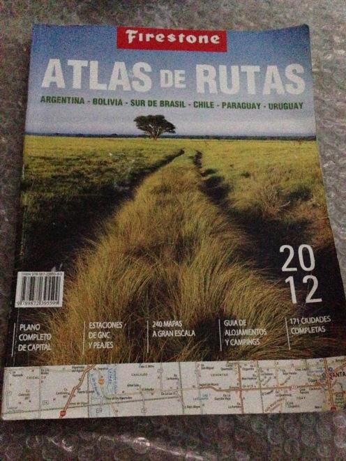Atlas de Rutas - Firestone