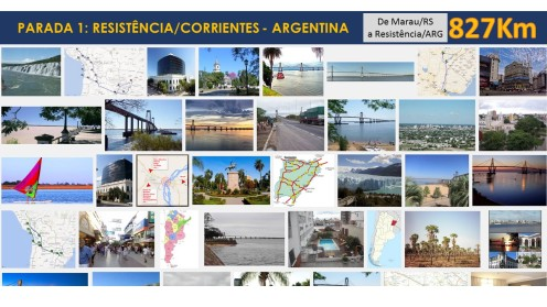 Parada 1: Resistência / Corrientes - Argentina