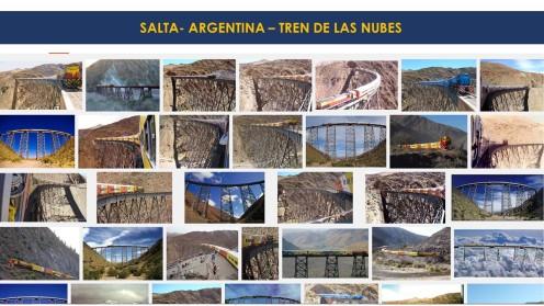 Salta - Argentina - Tren de las nubes