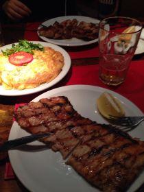 Matambre de cerdo y tortilla de papas! Delicious!!!