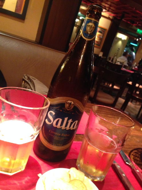 Cerveza Salta!