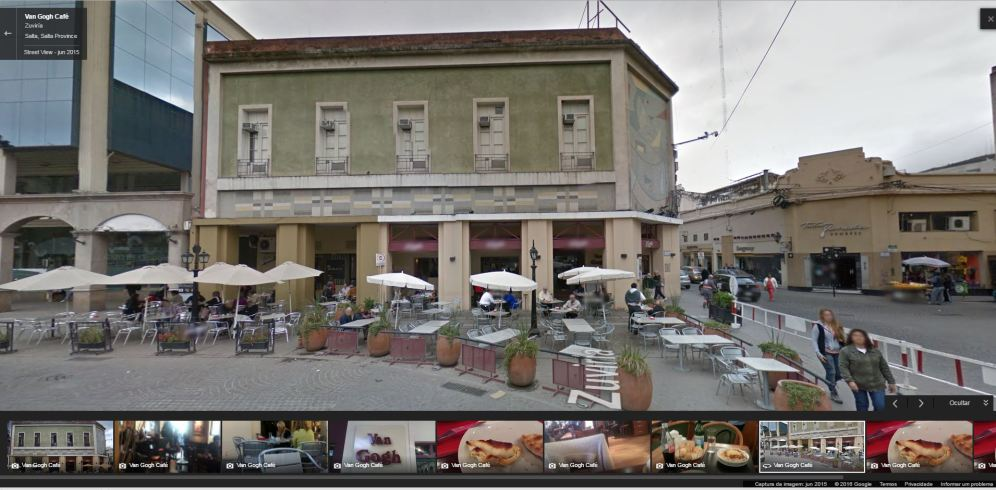 Van Gogh Café - Google Street View