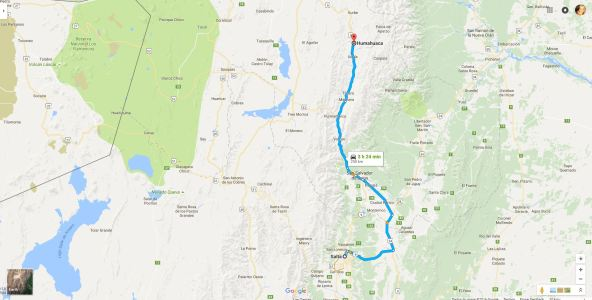 From Salta to Humauaca
