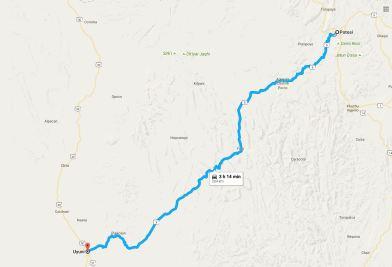 From Potosí to Uyuni