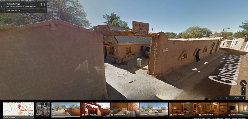 Hostal Corvatsch - Google Street View