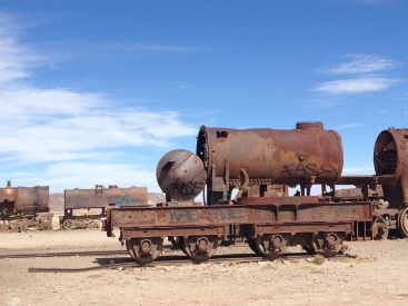 Train Cemetery - Uyuni