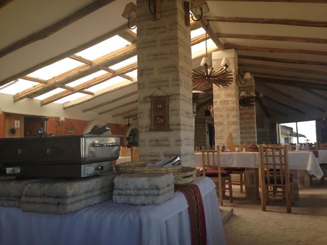 Hotel de Sal Luna Salada - restaurant