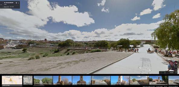 Border La Quiaca - Villazón Google Street View