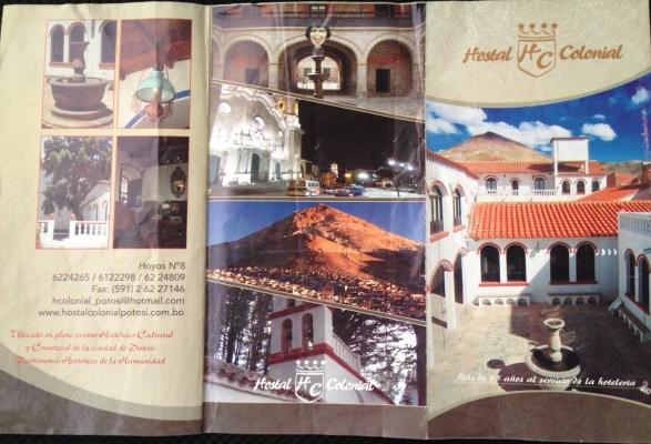 Hostal Colonial - Potosí - Bolivia