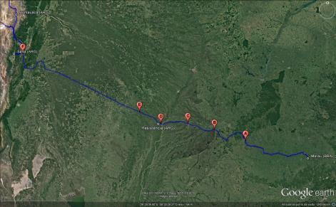 mapa pedágios - tolls map