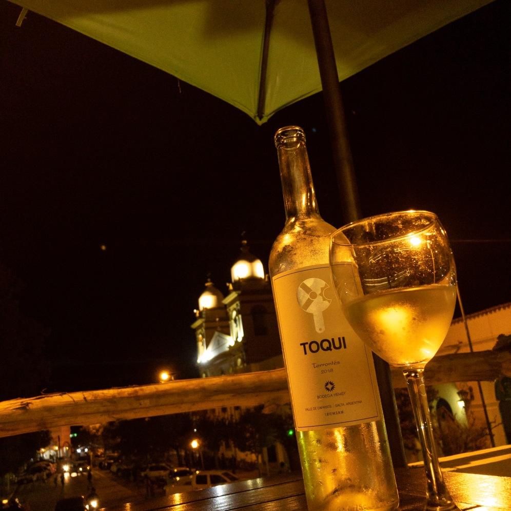 Vinho Torrontés em Cafayate