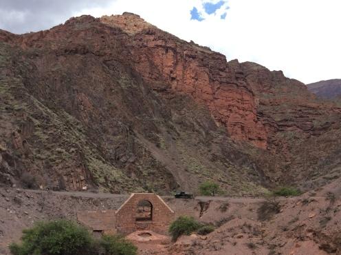 Trecho entre Cabra Corral e Cafayate